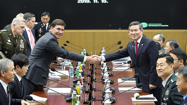 Menhan Korsel dan AS Hendak Lanjutkan Kolaborasi Keamanan dengan Jepang