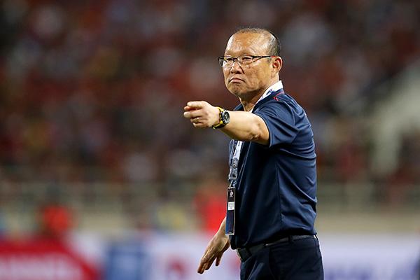 Huấn luyện viên Park Hang-seo đưa U22 Việt Nam vào chung kết SEA Games 30