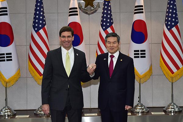 Defensa de EEUU y Corea del Sur mantendrán la cooperación entre Seúl, Washington y Tokio