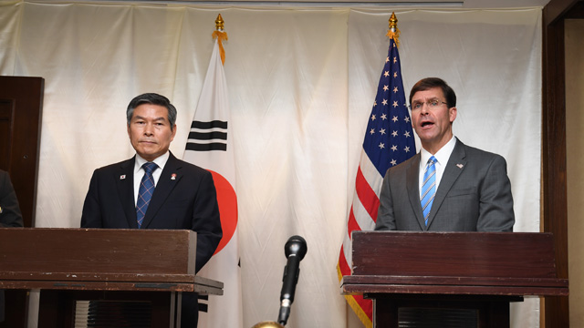 S. Korea, US Agree to Postpone Joint Air Exercises