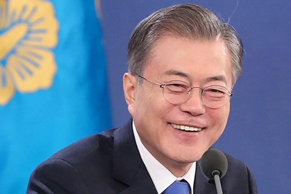 Presiden Moon Bersiap untuk Acara