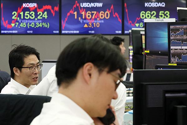 La Bourse toujours sur la pente descendante