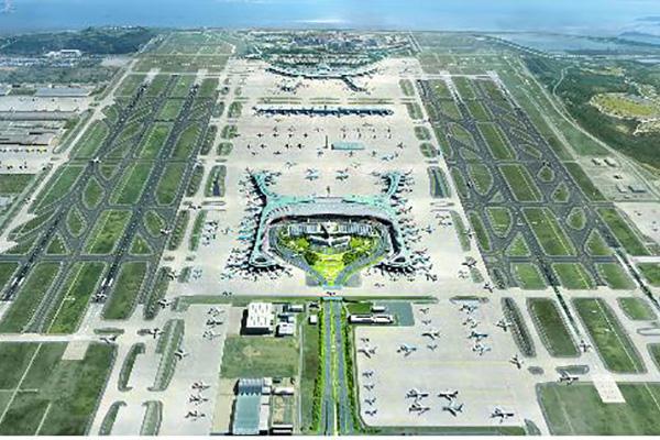 仁川机场第4阶段建设工程开工