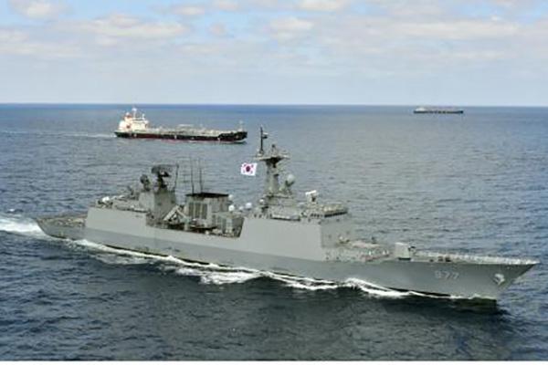 韩船只在也门海域被武装组织扣留 韩驱逐舰赶往现场