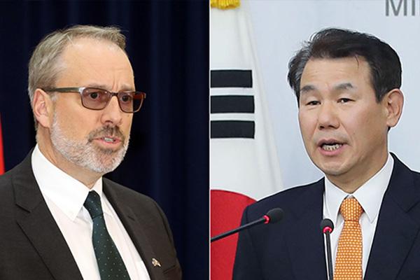 Financement des GI's : l'ambassadeur américain à Séoul fait état de 5 milliards de dollars