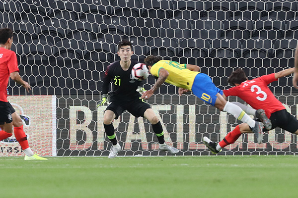 Scoring Woes Continue as S. Korea Falls 0-3 in Friendly against Brazil