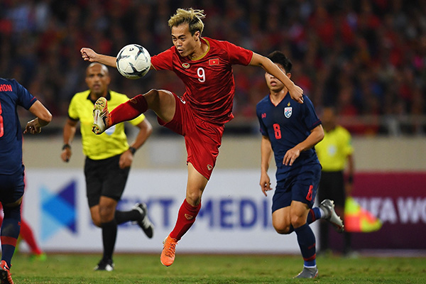박항서의 베트남, 태국과 0-0 무승부…월드컵 예선 선두 유지