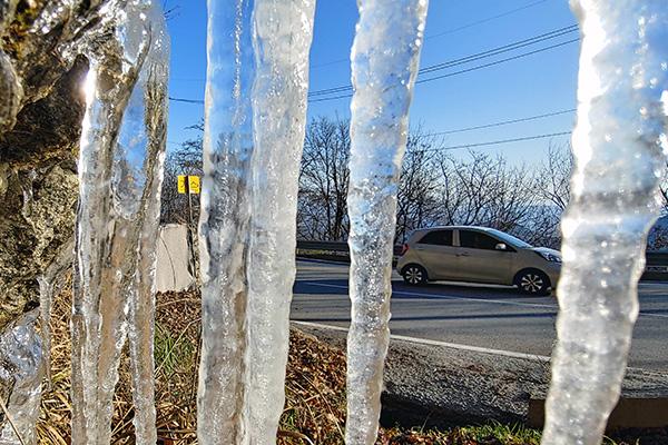 20 ноября отмечена самая низкая температура с начала осени