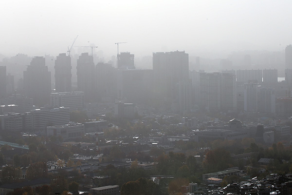 Joint Study Shows Half of S. Korea's Ultra Fine Dust Comes from Domestic Sources