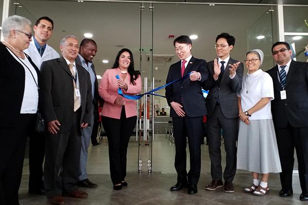 Ecuador inaugura un centro de salud con apoyo coreano