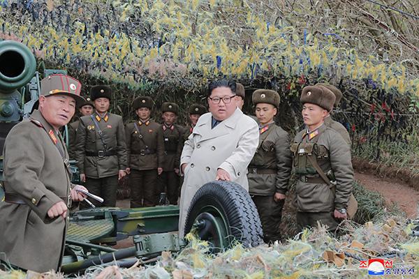 Chủ tịch Bắc Triều Tiên chỉ thị diễn tập bắn pháo bờ biển trên biển Tây