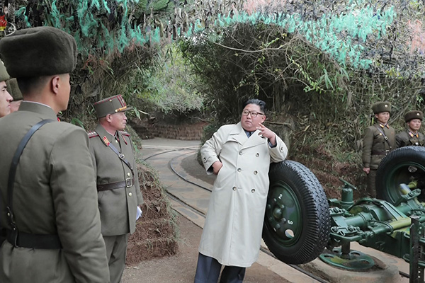 Defense Ministry Lodges Protest with N. Korea over Artillery Firing Drills