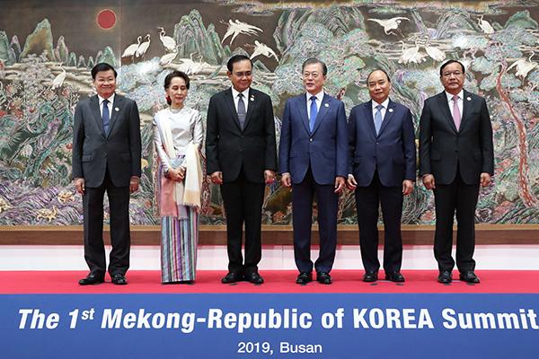 Corea y los países de Mekong adoptan una declaración en Busan