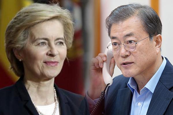 Moon Jae In pide a la UE apoyo al proceso de paz en la península coreana