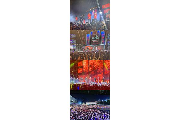 SBS「ランニングマン」 ベトナムでのファンミーティングに1万人