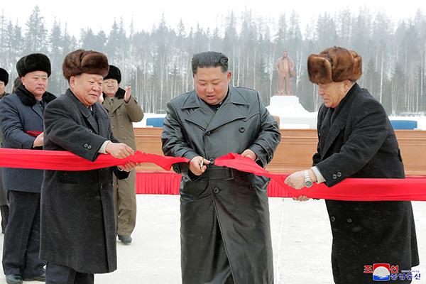 Kim Jong-un de nouveau à Samjiyon près du mont Baekdu