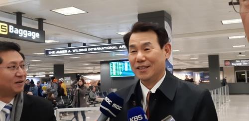 韩国协商大使郑恩甫:韩美应合理公平地分担防卫费