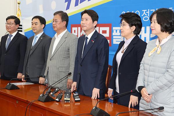 '4+1 협의체' 예산심사 착수…'사령탑 교체' 한국당, 전략 고심
