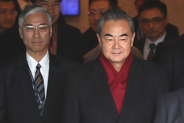 S. Korean, Chinese Top Diplomats to Discuss 3-Way Summit with Japan