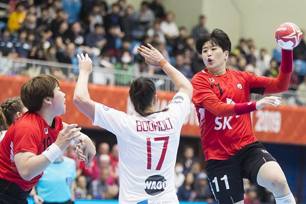 한국 여자핸드볼, 호주 완파하고 세계선수권 결선 리그 진출