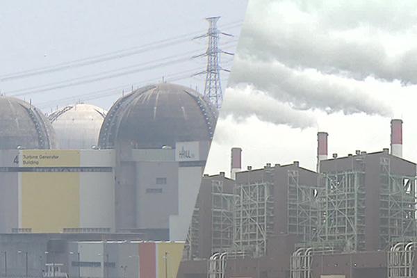 1년 새 원전·재생에너지 발전량 늘고, 석탄·가스 발전은 감소