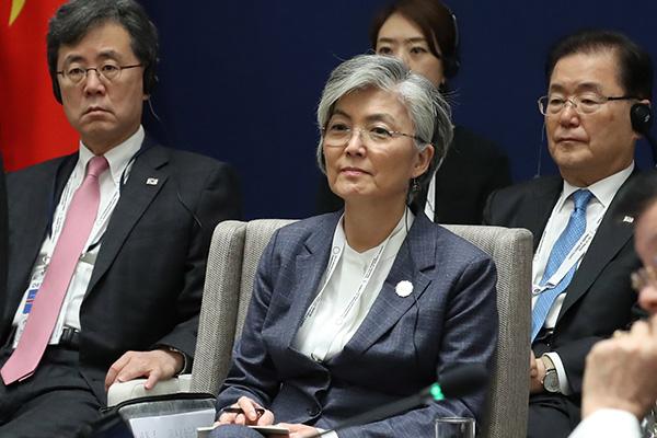 「韓半島で戦争が起こることはない」 康京和外交部長官