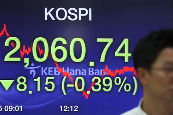 KOSPI Ditutup Turun 0,39% pada Hari Kamis