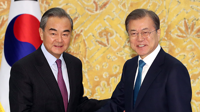 Moon: S. Korea-China Cooperation Will Contribute to Security, Economy