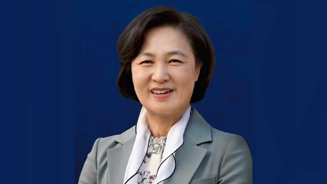 Moon designa a ex líder del oficialismo como candidata a ministra de Justicia