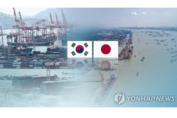 Südkoreas Anteil an Japans Ausfuhren unter sechs Prozent gefallen