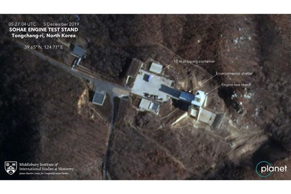 Year-end Deadline Looms Large as N. Korea Appears to be Readying Rocket Engine Test Site