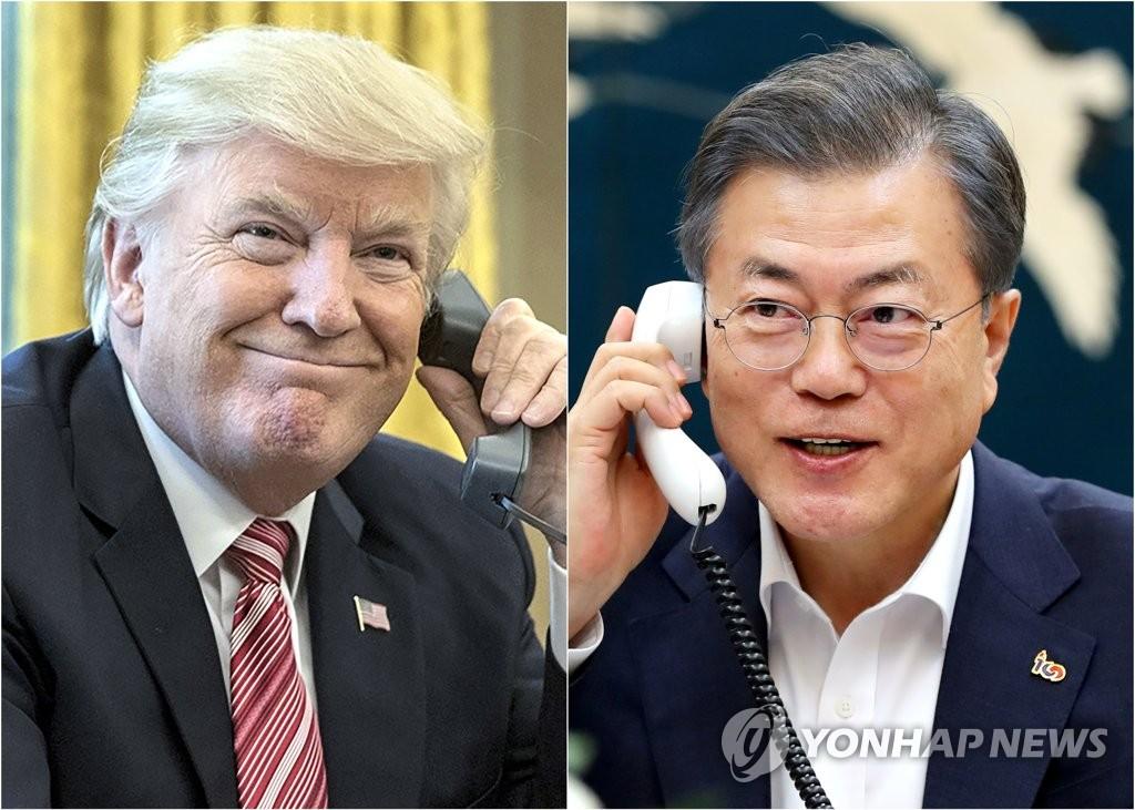 Президенты РК и США согласились с необходимостью поддерживать импульс диалога по Северной Корее