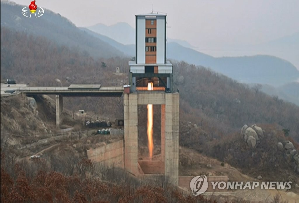 N. Korea Says it Again Conducted Crucial Test at Satellite Launch Site