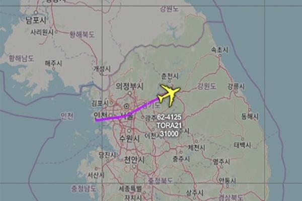 Un avion de reconnaissance américain survole la région métropolitaine de Séoul
