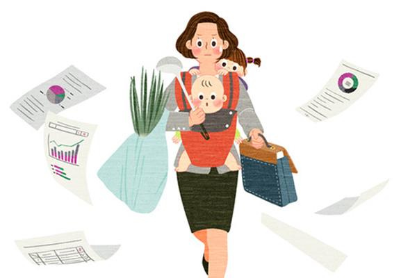 调查:95%在职妈妈考虑过辞职