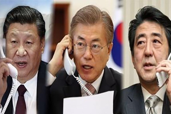 Moon to Attend Trilateral Summit with China, Japan on Dec. 24