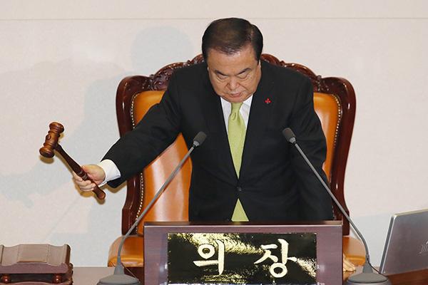 韩定期国会进入最后一日 仍未处理预算案
