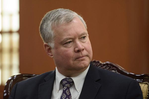 US Senate Panel Approves Biegun's Nomination as State Department No. 2