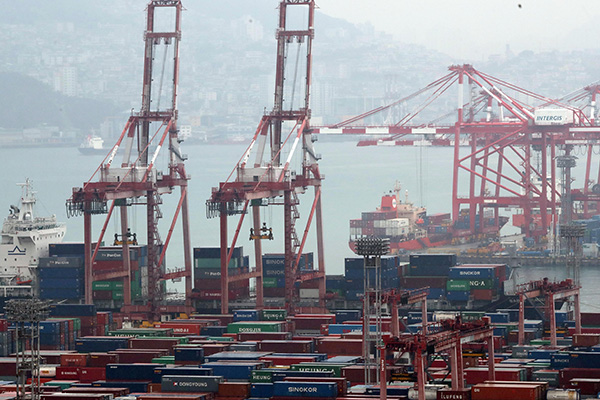 S. Korea's Export Prices Fall for Third Straight Month in November