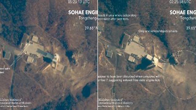 38 North: Weitere Aktivitäten an Nordkoreas Sohae Satellitenstartgelände