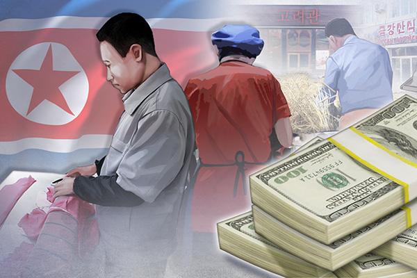 Thu nhập bình quân đầu người của Hàn Quốc cao gấp 26 lần Bắc Triều Tiên