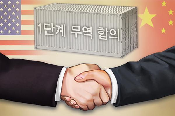 China y EEUU firman la 'Fase 1' del tan esperado acuerdo comercial