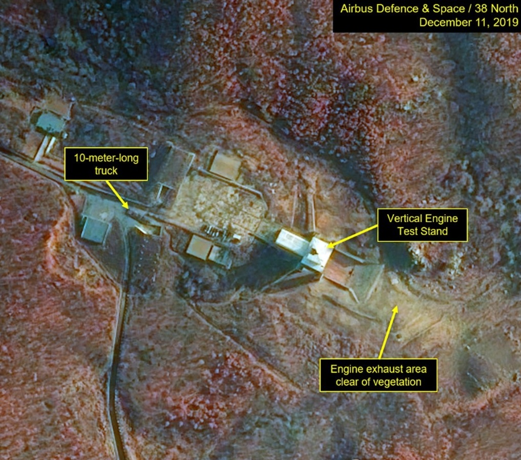 38 North: Post-Engine Test Activity Spotted at Sohae Facility