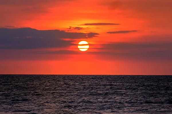 Matahari Pertama Tahun Baru 2020 Terbit di Pulau Dokdo