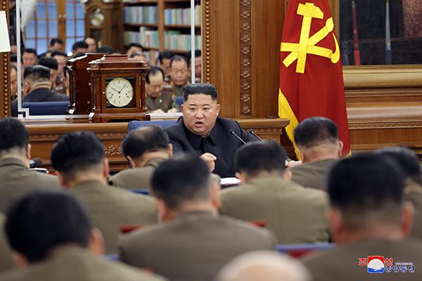北韓、党中央軍事委で「戦争抑止力の強化」について議論