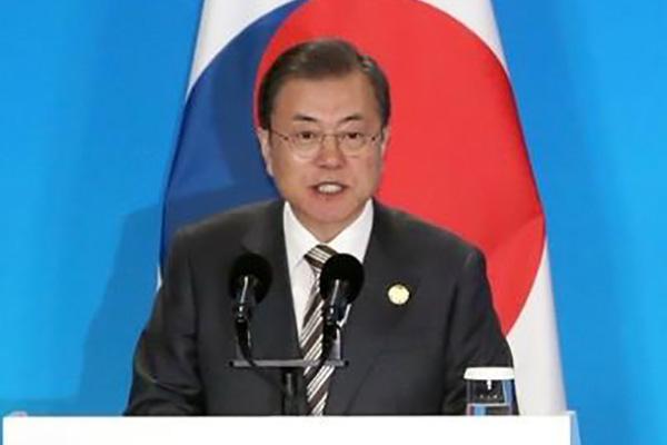 Nucléaire nord-coréen : Moon Jae-in souligne le principe d' « action par action »