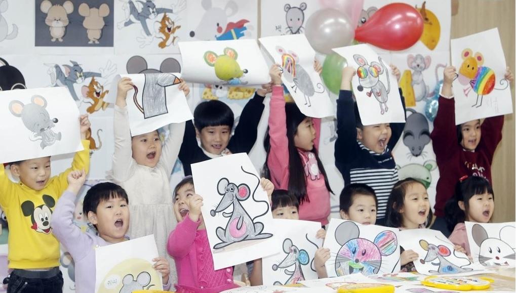 الكوريون يتوقعون الازدهار والرخاء في عام الفأر