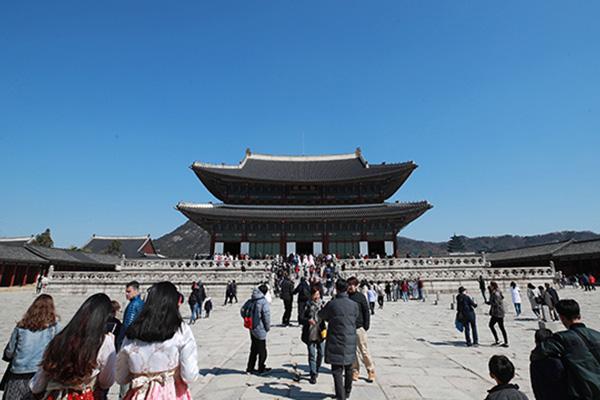 去年韩国古迹访客达1338万人次 创历史新高