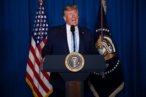 ترامب يؤكد التزامه بنزع السلاح النووي من كوريا الشمالية