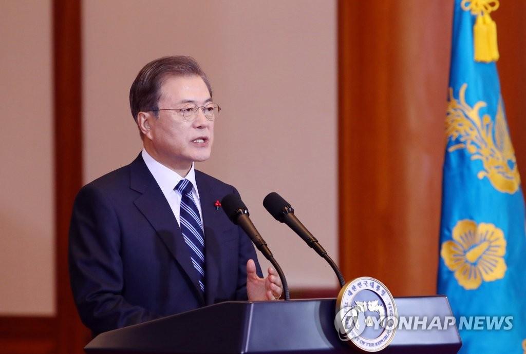 文在寅:南北韩应为金正恩回访韩国作出努力